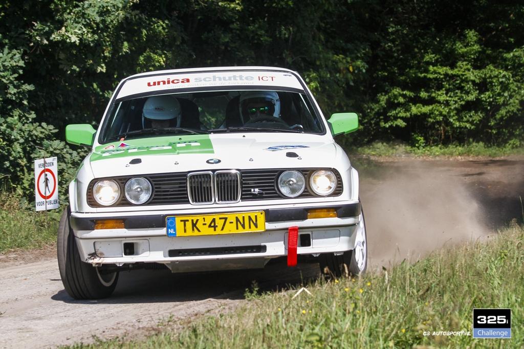 Verslag GTC Rally 325i Challenge