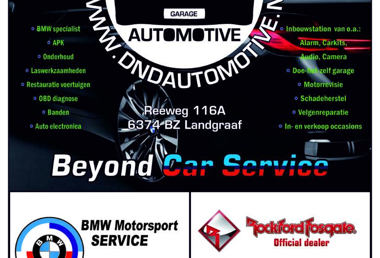 Avondmeeting D&D Automotive