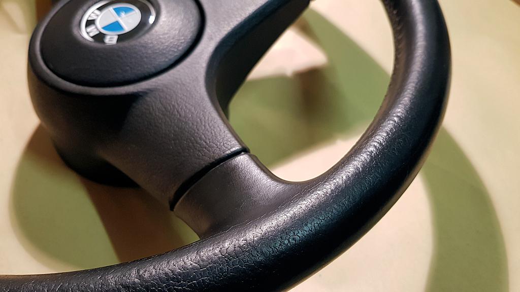 Clubauto: stuur opknappen