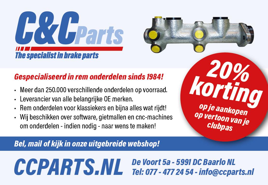 C&C Parts, nieuwe partner!